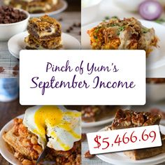 Making Money from a Food Blog - September 2012