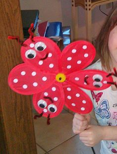 Pinwheel Bugs!