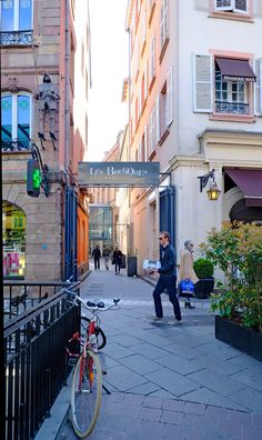 Straßburg Durchgang zu den Boutiques Galerie  Aubette