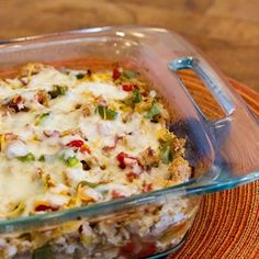 Spaghetti Squash and Turkey Casserole
