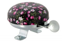 Bicycle Bell Pink Blossom Silver - order via info@bonniebikes.com