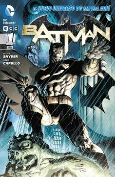 Batman 1 - Variant cover - (Of course, mine is in first print, and in English)