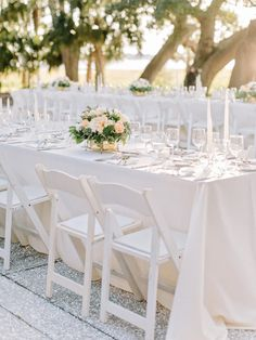 Long tables: http://www.stylemepretty.com/2015/05/21/traditional-southern-wedding-at-lowndes-grove-plantation/ | Photography: Amy Arrington - http://amyarrington.com/
