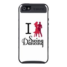 Get 20% off this or any phone case Jan 28 - 29. Use Code: CASETHEYLOVE. #swing #dancing #iphone #case #zazzle
