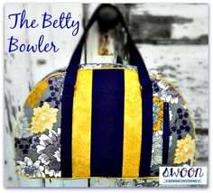 Sew And Sell: The Betty Bowler Bag + How To Make A Sewing Table Extension