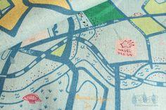 Berlin Map by Marie Jacobi