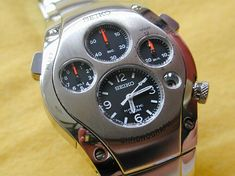 c6671f344245 Reloj SEIKO SPORTURA 9T82-0A50 reloj  de segunda mano seiko ...