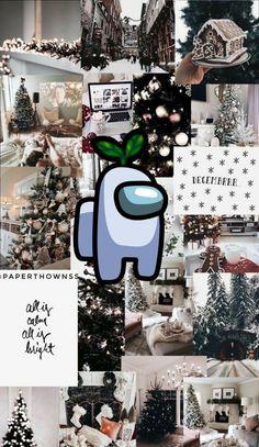 Among Us  27+ Christmas Aesthetic Wallpaper Collage 2020
