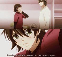 misaki's idea of erotic, hihi