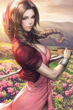 CyberWolf, Final Fantasy VII - Aerith Gainsborough Created by...