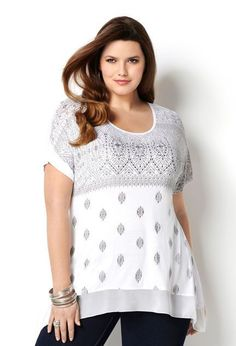 Trends in tops plus size women's cloth are constantly changing and this is due to the growing need for looking unique and stylish.