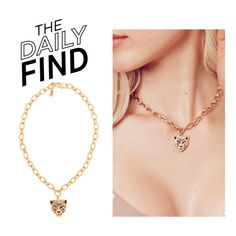 """""""The Daily Find: Vanessa Mooney Choker"""" by polyvore-editorial ❤ liked on Polyvore featuring DailyFind"""