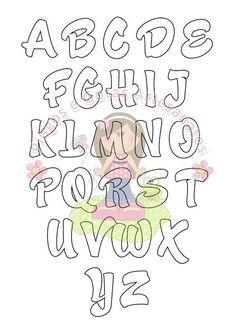 Moldes de letras: