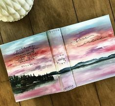 "Hosanna Revival hand-painted Bible for Sophia ""Who the Son sets free, he is free indeed"" Scripture Art, Bible Art, Bible Verses, Painted Books, Hand Painted, Bibel Journal, New Bible, Bible Covers, Journal Covers"