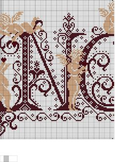 (1) Gallery.ru / Фото #7 - Ангелочки (схемы) 3 - Olgakam Cross Stitch Angels, Crochet Angels, Le Point, Needlework, Kids Rugs, Pattern, Crafts, Art, Album