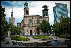 Plac grzybowski w Warszawie kościół wszystkich świętych