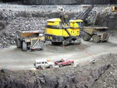 Mining Equipment, Heavy Equipment, Toys In The Attic, Farm Toys, Dump Truck, Rc Cars, Model Trains, Scale Models, Monster Trucks
