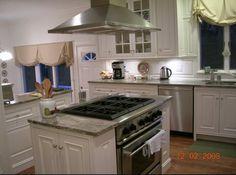 Kitchen Island Stove island cooktop | island hood over wolf range top | remodel ideas