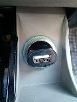 Produkttests und mehr: CSL - Slim USB KFZ Adapter / mini Auto Schnelllade...