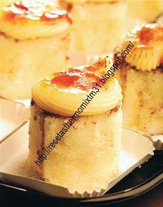recetas thermomix: Piononos de Santa Fe Sin Gluten, Mini Cakes, Flan, Cakes And More, Oreo, Fondant, Bakery, Good Food, Mousse