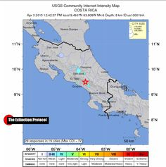 Two Good Friday earthquakes rock Costa Rica – third quake in 4 days