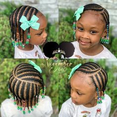 Children's Braids and Beads! DM me for booking information! - - Children's Braids and Beads! DM me for booking information! Box Braids Hairstyles, Toddler Braided Hairstyles, Toddler Braids, Natural Braided Hairstyles, Braids For Kids, Hairstyle Ideas, Little Girls Natural Hairstyles, Lil Girl Hairstyles, Black Kids Hairstyles