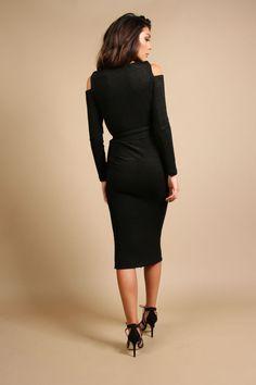 Eden Midi £155    #fashion #midi #aw16  #winterfashion #rr #rebeccarhoades  http://www.rebeccarhoades.com/product/eden-midi-dress/
