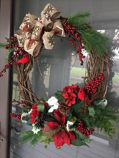 Winter/Christmas Wreath For Sale $50.00 shipping and handling extra