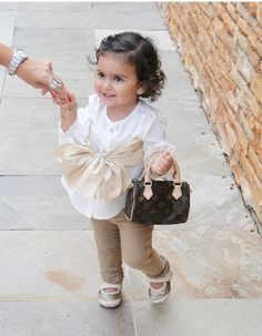 Oh hey, it's my child. She will look like this & act like that!