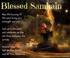 Today we celebrate Samhain (so-ven), the start of the Celtic winter, the season of the dark, the beginning of a new cycle of growth and renewal. Samhain is a sacred time, a time to honour our Wise ...