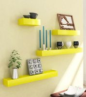 Home Sparkle Rectangular 4 - Shelf Rack: Rack Shelf