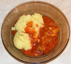 Romanian Food, Stew, Mashed Potatoes, Cauliflower, Appetizers, Lunch, Meals, Chicken, Vegetables