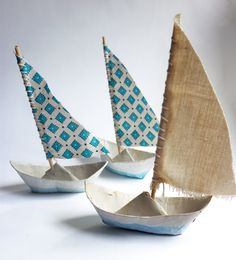 paper mache boats | more wee ships ships are sailing paper mache boat