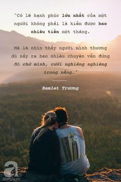 Hạnh phúc của một người là...