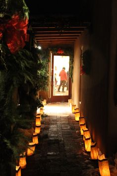 Santa Fe's Farolito Walk on Canyon Road.  Once you spend a Christmas in NM...you'll never forget it.