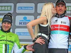 Slovakian cyclist Peter Sagan criticised for pinching the bottom of podium girl after Tour de Flanders - Others - More Sports - The Independent
