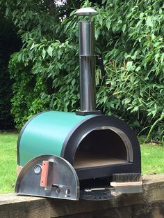 Barbecuing & Outdoor Heating Garden & Patio Energetic Brick Outdoor Wood Fired Pizza Oven 100cm Terracotta Supreme Model Chimney Mount