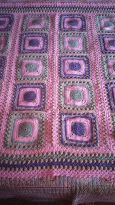 Baby blanket. Andréa Miller