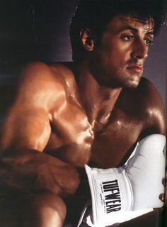 Sylvester Stallone  When all the girls were into brad Pitt , this was my crush, rocky and Rambo were my motivation and inspiration