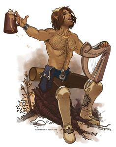 Pan, Satyr, Faun, Fawn, Horned God, Hern the Hunter, Forest God, Green Man, Cernunnos