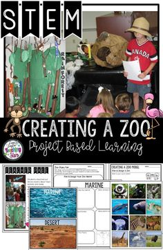 STEM Creating a Zoo Model will introduce your students to many important science concepts as they research, design, and create a zoo habitat. Students learn about the different habitats animals live in and create an environment for them.