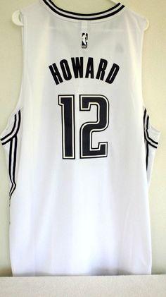 ae2ddf53fb68 Orlando Magic Dwight Howard Adidas Black White Jersey Sz XL+2 Special  Edition