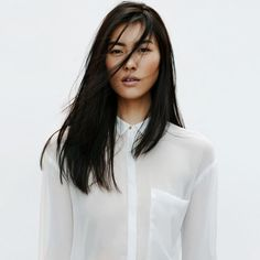 Liu Wen for Zara is perfection