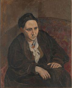 Pablo Picasso, Portrait of Gertrude Stein (1906)
