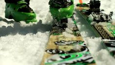 Dynafit.  I use Dynafit Manslu skis and TLT Vertical bindings.  They take some getting used to, but after that you are hooked.