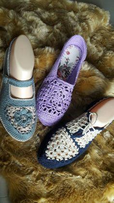 Sapato crochê