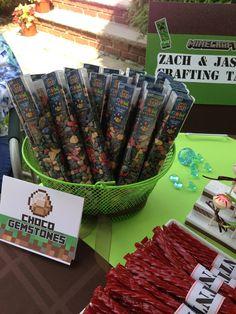 "Photo 18 of 33: Minecraft & Video Games / Birthday ""Jason & Zach's Minecraft 11th Birthday Party"" | Catch My Party"