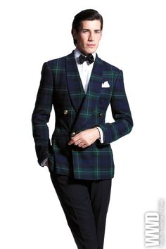 Ralph Lauren Fall 2012 (And bonus points for looking almost identical to the Gordon clan tartan, my clan!)