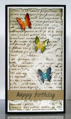 rainbow butterflies by noonuh - Cards and Paper Crafts at Splitcoaststampers