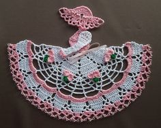 Ravelry: Sweet Pea Crinoline Girl Doily (Item #0489) pattern by Cylinda Mathews